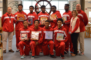 Basketball Spreads Holiday Cheer