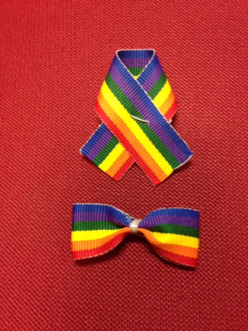 Rainbow Ribbons Show Support for GSA