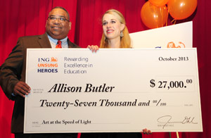 Butler Wins $27,000 for GB