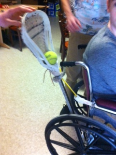 Engineers Launch for Adaptive Lacrosse